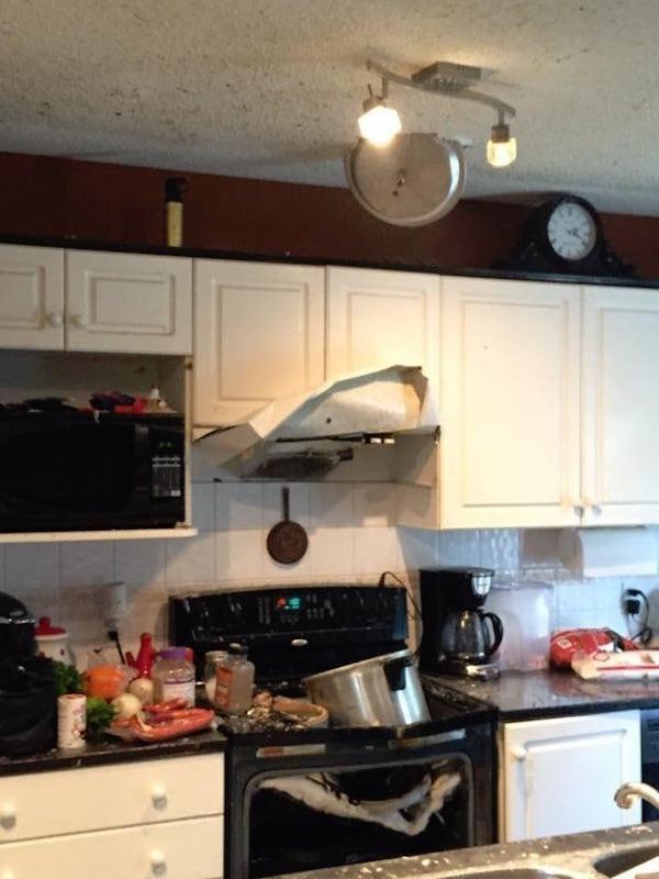 дерьмо на кухне