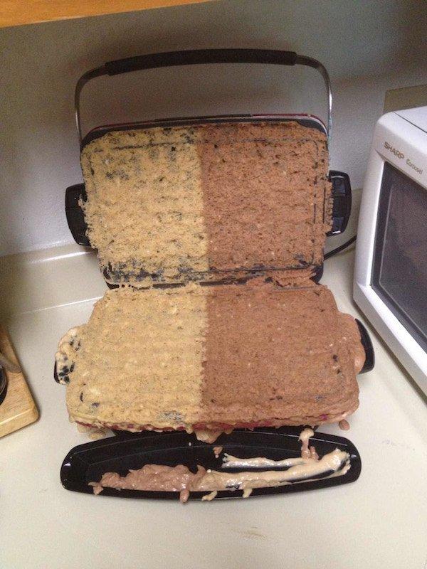 пирог не удался