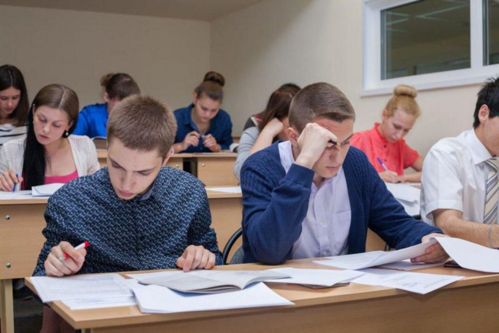 Экзамен в колледже
